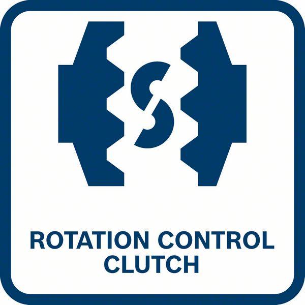 Rotation control clutch